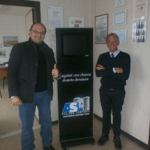 Scampia, Giuseppe Alviti e il professore Goffredo Miano testimonial a Scampia per la donazione degli organi