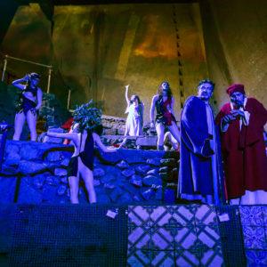 Napoli, L'Inferno di Dante torna in scena alle cisterne del Museo del Sottosuolo di Napoli. Prodotto dalla Tappeto Volante è già sold out
