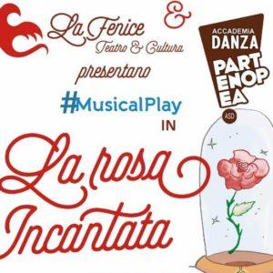 """Grumo Nevano, la compagnia Musical Play dell'Accademia Danza Partenopea porta in scena """"La Rosa Incantata"""""""