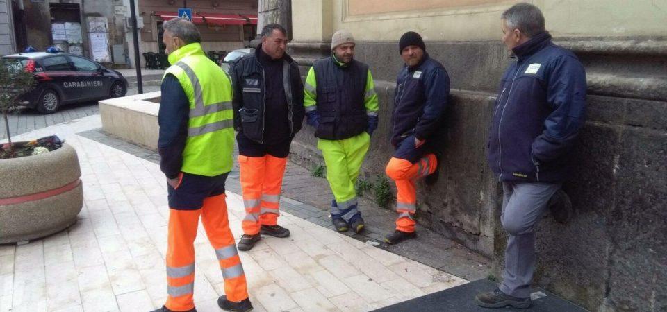 Casandrino, nuovo stato di agitazione per i lavoratori del consorzio C.I.T.E.. Ritardi nei pagamenti degli stipendi